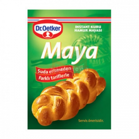 Dr.oetker Instant Maya 3lü - 30lu Paket