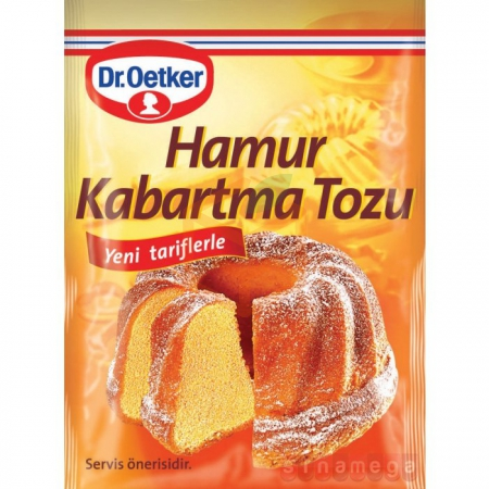 Dr.oetker 10' lu Hamur Kabartma Tozu  15' li Paket | Gıda Ambarı