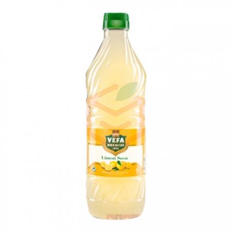 Vefa Limon Sosu 1 kg  12' li Koli Toptan - Soslar ve Sirkeler - Limon Sosu -