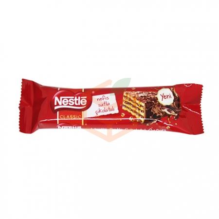 Nestle Sütlü Çikolatalı Çıtır Gofret 27 Gr 20' li Paket | Gıda Ambarı