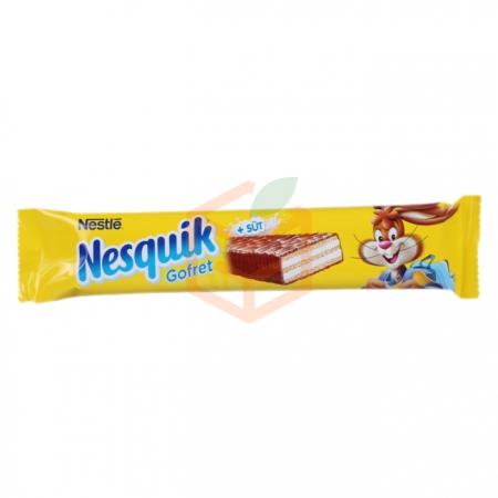 Nestle Nesquik Sütlü Gofret 26.7 Gr 30'lu Paket   Gıda Ambarı