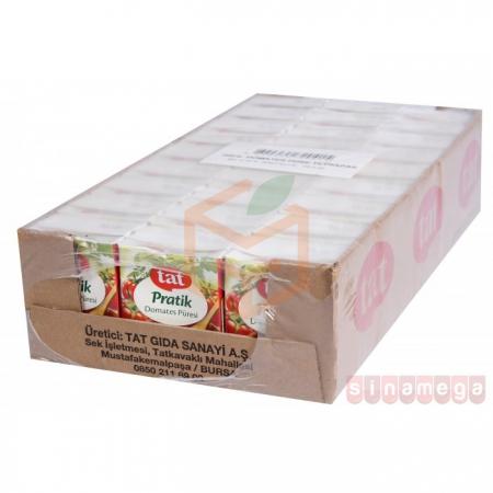 Tat Domates Püresi Tetrapak 200 Gr 27' li Koli | Gıda Ambarı