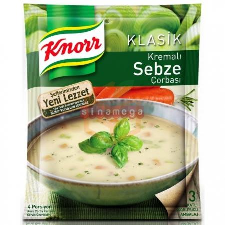 Knorr Çorba Kremalı Sebze Çorba 12' li Paket | Gıda Ambarı