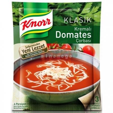 Knorr Çorba Kr.domates Çorba 12' li Paket Toptan - Hazır Gıdalar - Çorbalar -