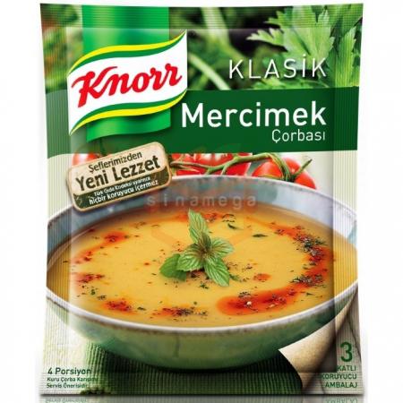 Knorr Çorba Mercimek Çorba - 12li Paket
