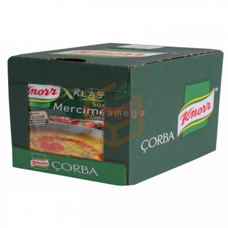Knorr Çorba Mercimek Çorba 12' li Paket | Gıda Ambarı