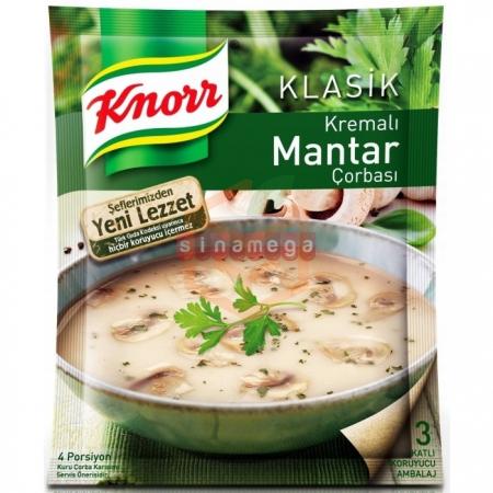Knorr Çorba Kremalı Mantar Çorba - 12li Paket