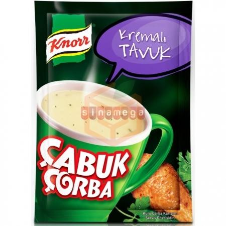 Knorr Çabuk Çorba Kremalı Tavuk 24' lü Paket   Gıda Ambarı