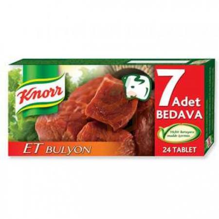 Knorr Et Bulyon 24' lü 240 Gr 32' li Koli | Gıda Ambarı
