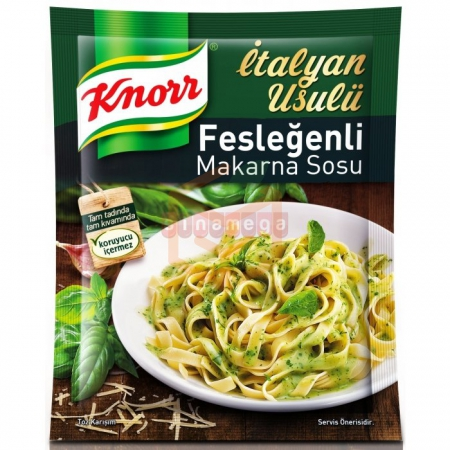 Knorr Makarna Sosu Fesleğenli - 12li Paket