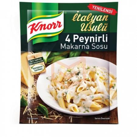 Knorr Makarna Sosu Peynirli - 12li Paket
