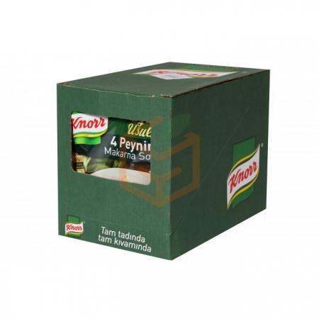 Knorr Makarna Sosu Peynirli  12' li Paket Toptan - Soslar ve Sirkeler - Makarna Sosu -
