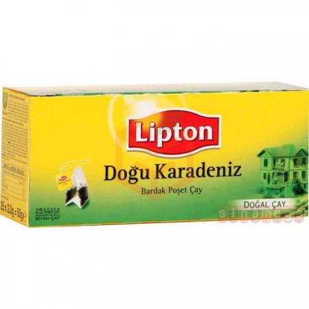 Lipton Doğu Karadeniz 25li Bardak (poşet) - 12li Koli