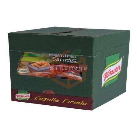 Knorr Tavuk Çeşnisi Baharatlı Sarımsaklı 12' li Paket Toptan - Baharatlar - Harçlar -