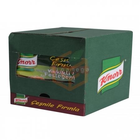 Knorr Tavuk Çeşnisi Kekikli Fesleğenli  12' li Paket | Gıda Ambarı