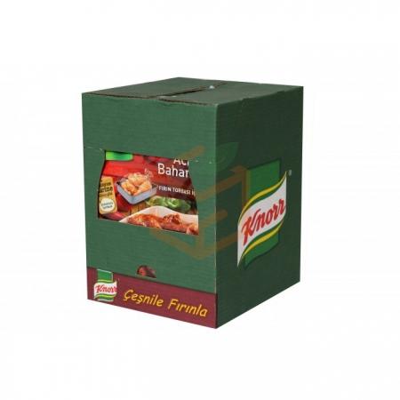 Knorr Tavuk Çeşnisi Acılı Baharatlı  12' li Paket Toptan - Baharatlar - Harçlar -