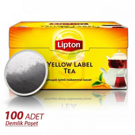 Lipton Yellow Label Demlik Poşet 100lü - 16lı Koli