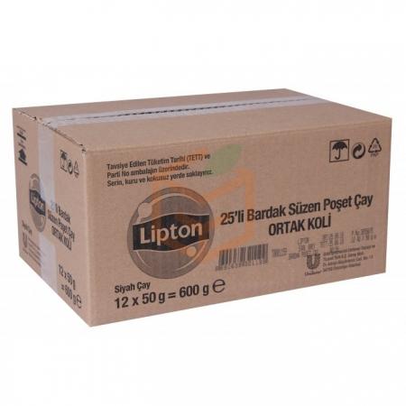Lipton Early Grey 25' li Bardak  12' li Koli Toptan - İçecekler - Çaylar -