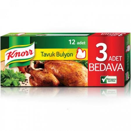 Knorr Tavuk Bulyon (12li) 120gr - 48li Koli