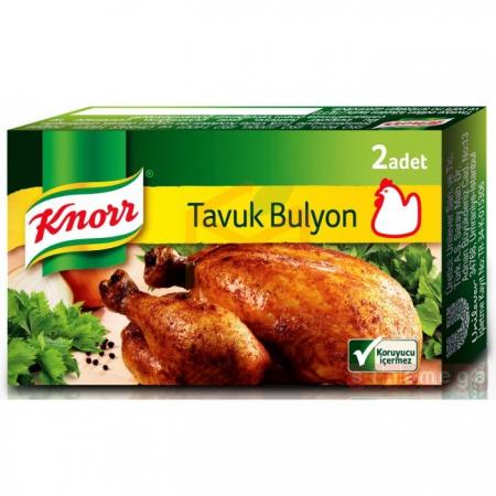 Knorr Tavuk Bulyon 2' li 36' li Paket   Gıda Ambarı