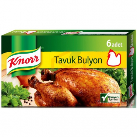 Knorr Tavuk Bulyon 6 - 16lı Paket