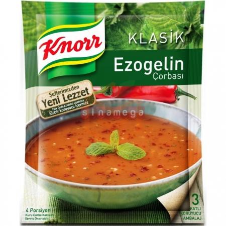 Knorr Çorba Ezogelin Çorba  12' li Paket | Gıda Ambarı