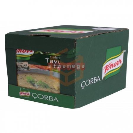 Knorr Çorba Şehriyeli Tavuk Çorba  12' li Paket Toptan - Hazır Gıdalar - Çorbalar -