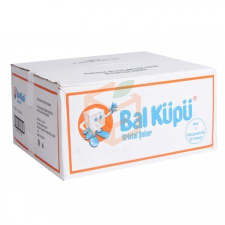 Balküpü Paket Toz Şeker 1 Kg  20' li Paket | Gıda Ambarı