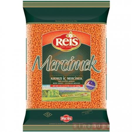 Reis 2500 Gr Kırmızı Mercimek  6' lı Paket | Gıda Ambarı