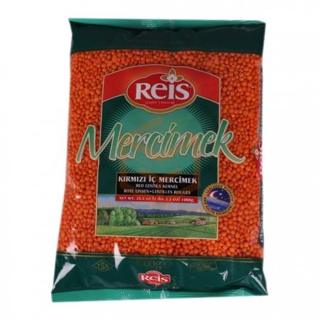 Reis 1000 Gr Kırmızı Mercimek  20' li Koli | Gıda Ambarı