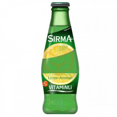 Sırma Meyveli Soda C Plus 200 cc 6' lı Limon  4' lü Koli | Gıda Ambarı
