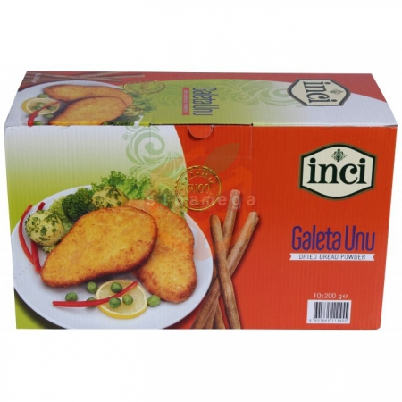 İnci Galeta Unu 200 Gr  10' lu Paket | Gıda Ambarı