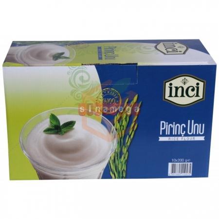 İnci Pirinç Unu 200 Gr  10' lu Paket | Gıda Ambarı