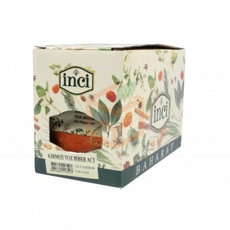 İnci Kırmızı Toz Biber Acı Poşet 30 Gr  10' lu Paket | Gıda Ambarı