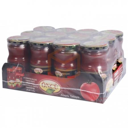 Öncü 700gr Domates Salçası(cam) - 12li Koli  | Gıda Ambarı
