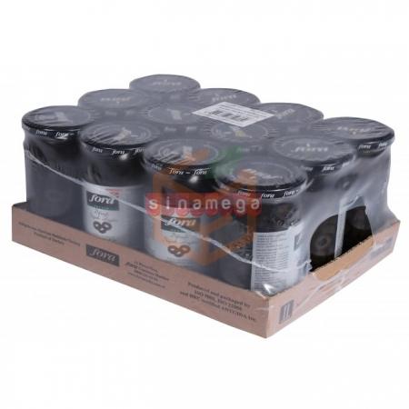 Fora Dilimlenmiş Siyah Zeytin 370 Cc - 12' li Koli | Gıda Ambarı