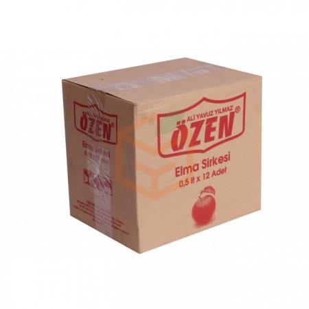 Özen Elma Sirkesi 500 ml - 12' li Koli | Gıda Ambarı