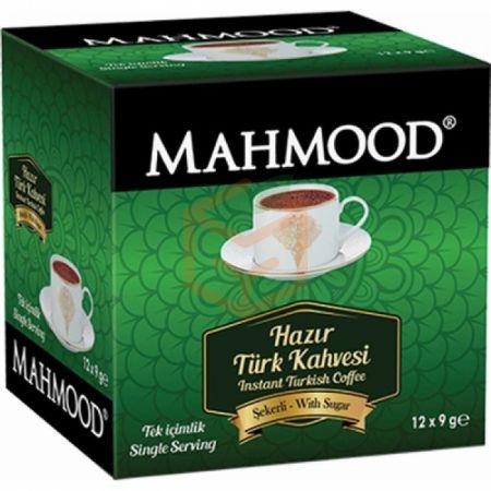 Mahmood Hazir Türk Kahvesi 9gr Şekerli-12`li Paket | Gıda Ambarı