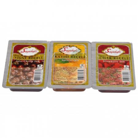 Seyidoğlu Piknik Reçeli Karışık 100 gr - 36`li Koli | Gıda Ambarı