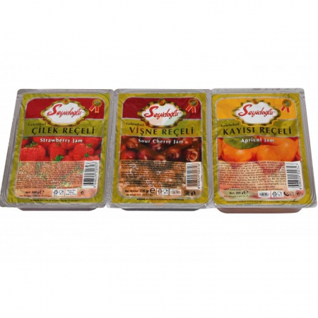 Seyidoğlu Reçel Karışık 200 gr - 18`li Koli | Gıda Ambarı