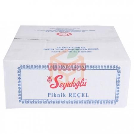 Seyidoğlu Reçel Çilek 200gr - 18' li Koli | Gıda Ambarı