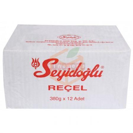 Seyidoğlu Gül Reçeli 380 gr - 12' li Koli | Gıda Ambarı
