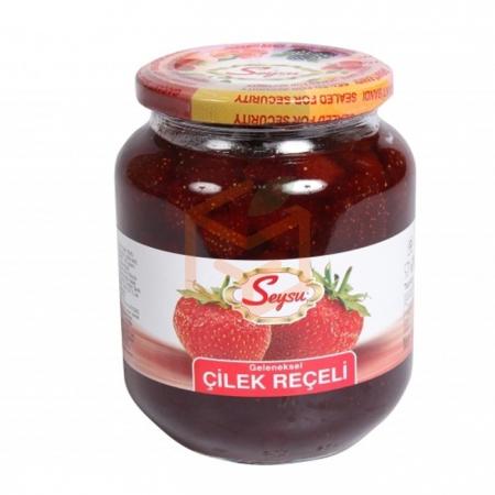 Seysu (kavanoz) Reçel 1000 Gr Çilek 6' lı Koli | Gıda Ambarı