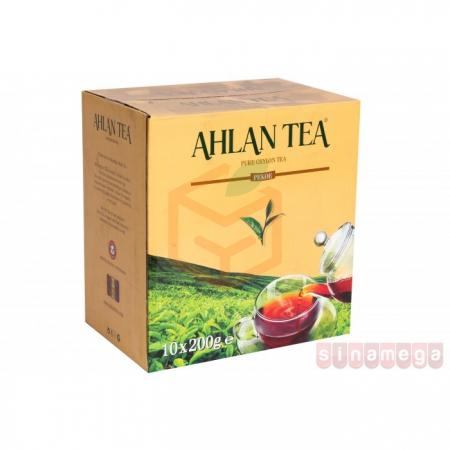 Ahlan Tea 200gr Pekoe (sarı) - 10lu Koli    Gıda Ambarı