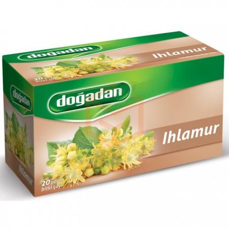Doğadan Ihlamur Bitki Çayı 20' li Paket 12' li Koli | Gıda Ambarı