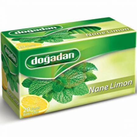 Doğadan Nane Limon 20li Paket - 12 Li Koli