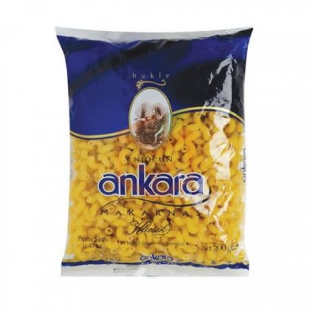 Ankara Makarna 500 Gr Bukle (spring) 20' li Koli   Gıda Ambarı