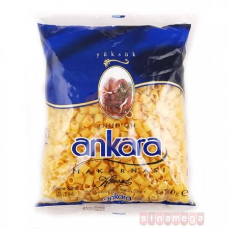 Ankara Makarna 500 Gr Yüksük  20' li Koli | Gıda Ambarı