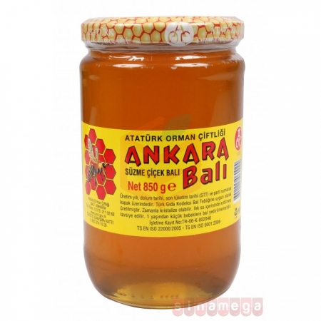 Ankara Çiçek Balı 850 Gr  6' lı Koli | Gıda Ambarı