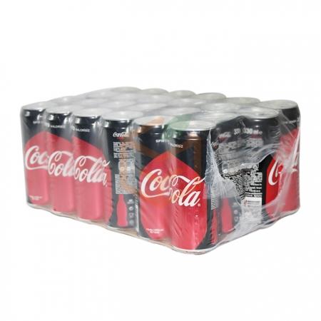 Coca Cola Zero Kutu  330 ml 24' lü Koli   Gıda Ambarı